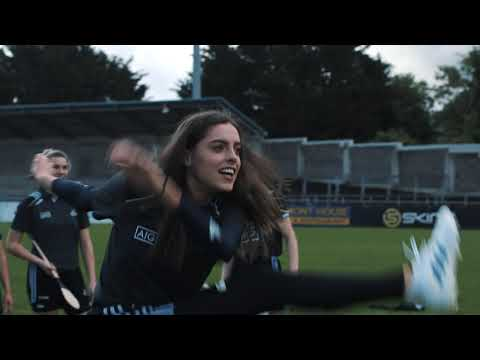 Dublin GAA Ladies And Camogie Players Show Their Skills