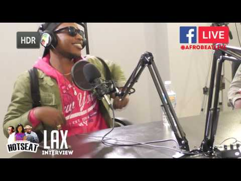 AFROBEATLIVE INTERVIEW L.A.X, NEW ALBUM, INDUSTRY EXPERIENCE, NEW RECORD LABEL