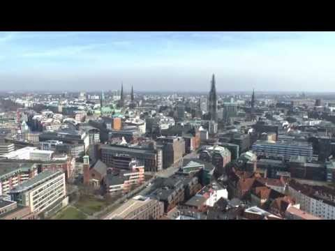 "St. Michaelis ""Der Michel"" Hamburg Full HD Panoramic View"