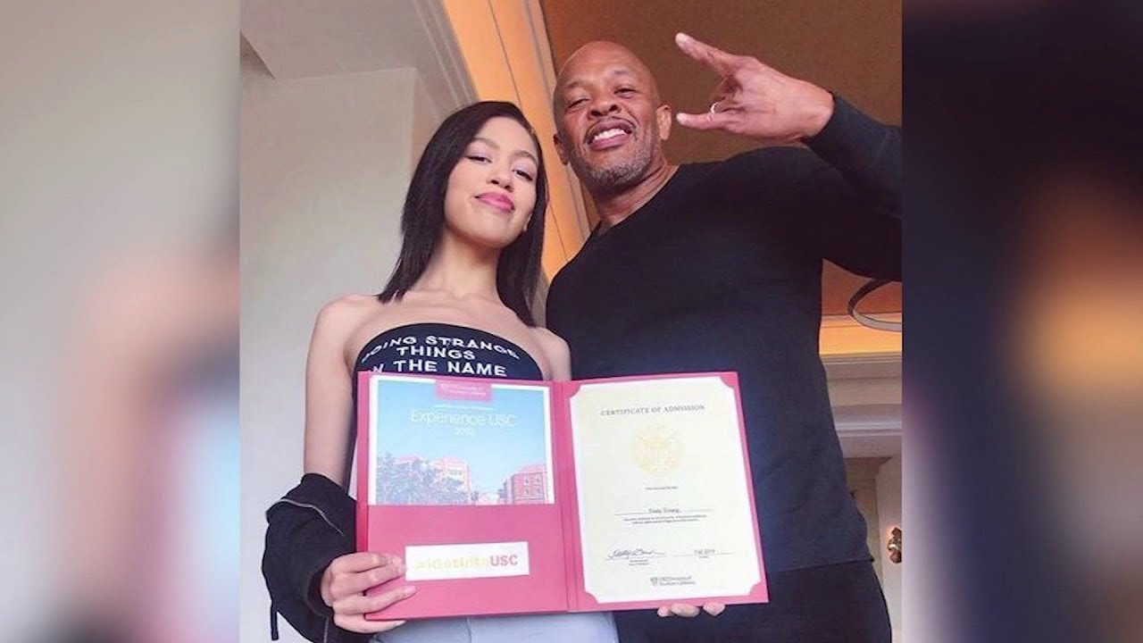 Dr Dre Deletes Instagram Post Bragging About Daughters