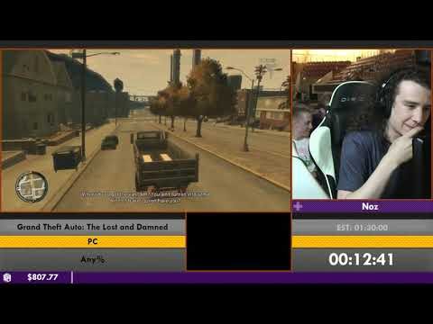 #ESA16 - Grand Theft Auto: The Lost and Damned (Any%) by Noz