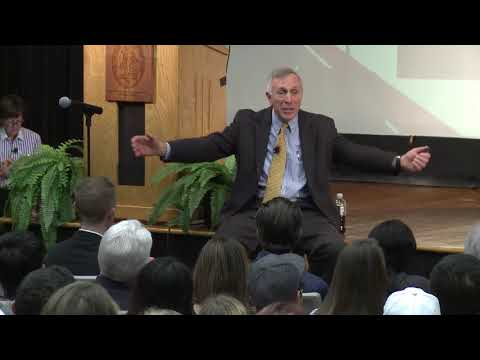 Ron Shapiro Presents at Thomas H. Regan Executive Sport Seminar