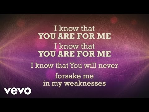 Kari Jobe - You Are For Me (Lyric Video)