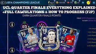 Fifa Mobile Ucl Quarter Finals Everything Explained + Full Calculations & Ho