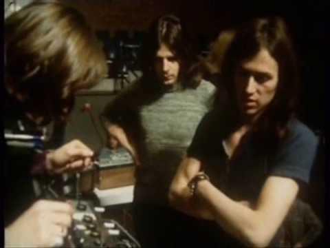 Pink Floyd  1971 in Hamburg from German TV. ZDF