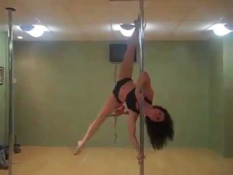 Cute Pole Dance - Jenyne Butterfly