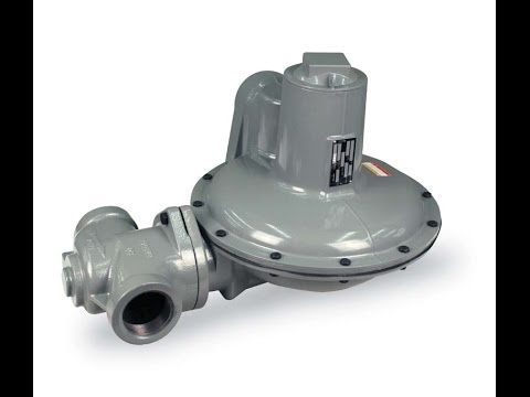 Natural Gas Regulator Principle | Itron B38 and B38IMR V | Gas Regulators with Internal Monitoring