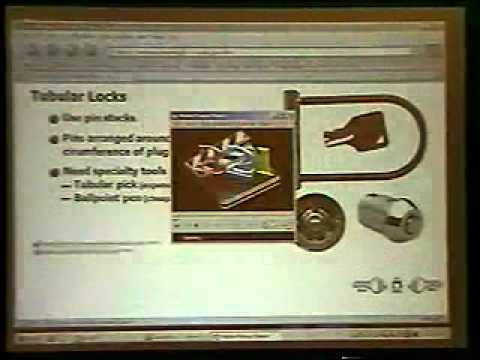DEF CON 13 - Deviant Ollam, Introduction to Lockpicking and Physical Security