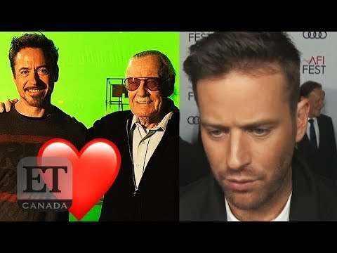 Armie Hammer Bashes Stan Lee Tributes