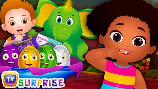 Brush Your Teeth | Good Habits Surprise Eggs Nursery Rhymes Toys | ChuChu TV Egg Surprise