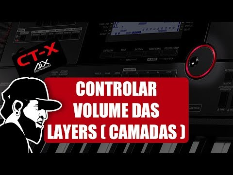 Como Controlar O Volume (Split)   Casio CT-X5000 (CTX5000EP08)