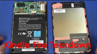 Amazon Kindle Fire Tablet Teardown - EEVblog #219