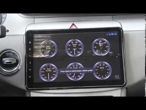 Joying MID Android car Audio radio stereo with 10.1 inch single din head unit for volkswagen
