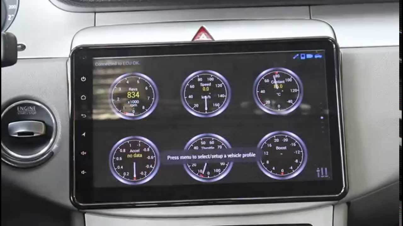 joying mid android car audio radio stereo with 10 1 inch single din head unit for volkswagen youtube [ 1280 x 720 Pixel ]