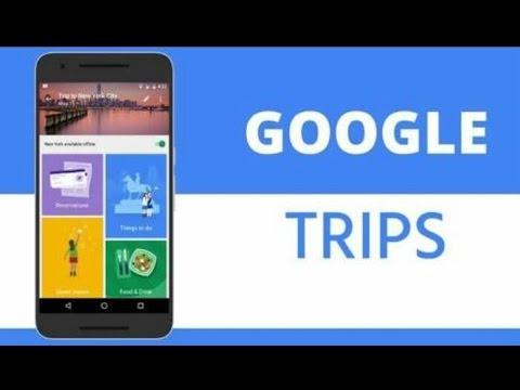 Best App of 2016 : Google Trip