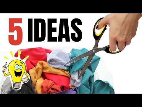 5 Ideas INCREÍBLES Con Retazos De Tela