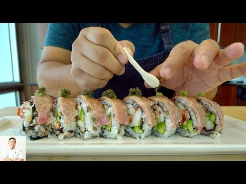 Official Lebron James Sushi Roll   Miyazaki A5 Wagyu Beef