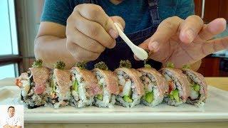 Official Lebron James Sushi Roll | Miyazaki A5 Wagyu Beef