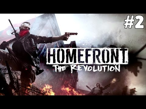 Homefront The Revolution Walkthrough #2- Free the People