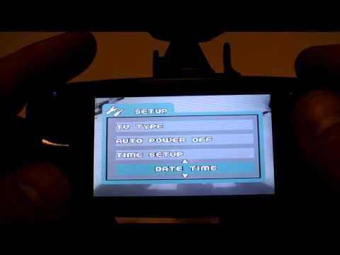 GS600-II GPS Menu Interface. Standard vs GPS bracket.