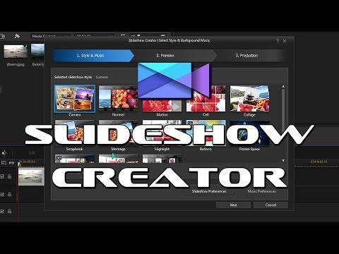 powerdirector slideshow templates download - powerdirector slideshow creator youtube