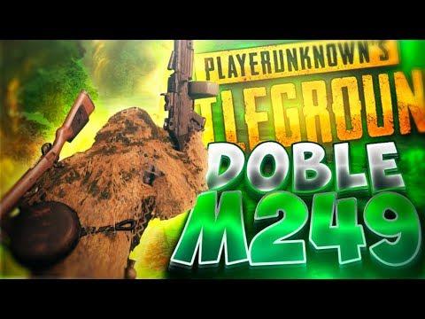 ¡DOBLE M249! 200 BALAS PARA ENEMIGOS! BUFF!! | PLAYERUNKNOWN'S BATTLEGROUNDS (PUBG)
