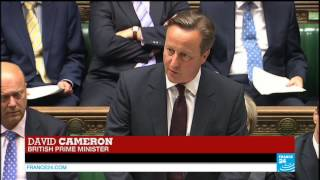 REPLAY - British Prime Minister David Cameron addresses the press on refugee crisis