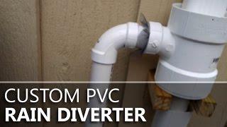 Custom Pvc Rain Diverter 1.0