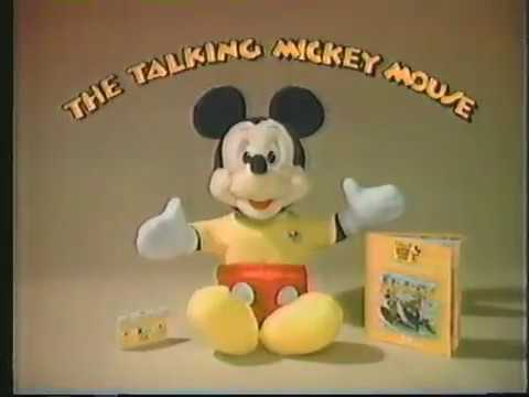 The Talking Mickey Mouse - 1987 Retro Commercial