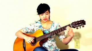 Gửi Người Yêu Dấu - Bé Mẫn - Guitar solo