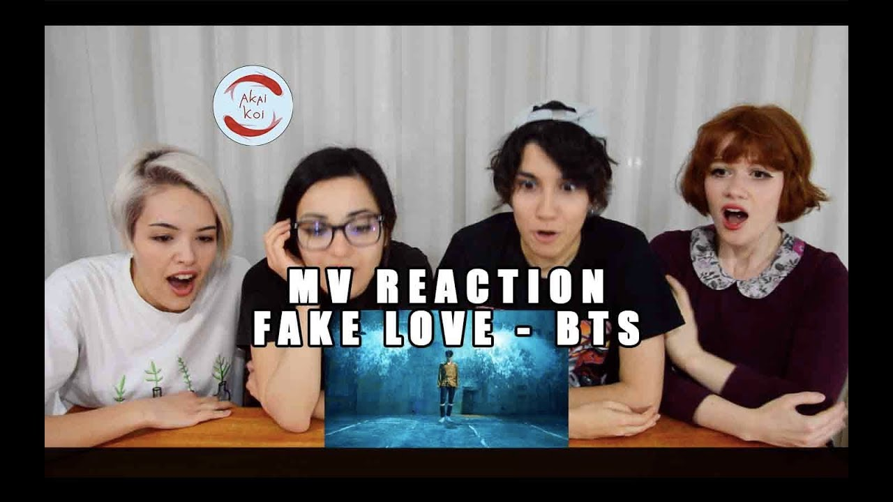 Bts Fake Love Mv Reaction By Akaikoi