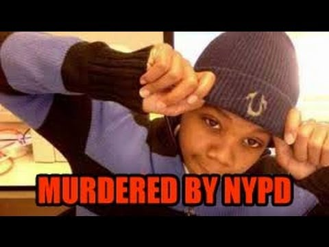 Protest for 16 year old Kimani Gray Murdered by undercover NYPD cops with NO badges !