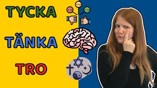 Tycka Tänka Tro 🇸🇪  | Learn Swedish in a Fun Way!