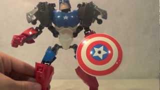 Lego 4597 Review: Marvel Super Heroes The Avengers Captain America(ultrabuild)