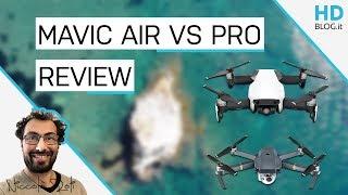 RECENSIONE DJI MAVIC AIR: è meglio del Mavic Pro o no? CONFRONTO
