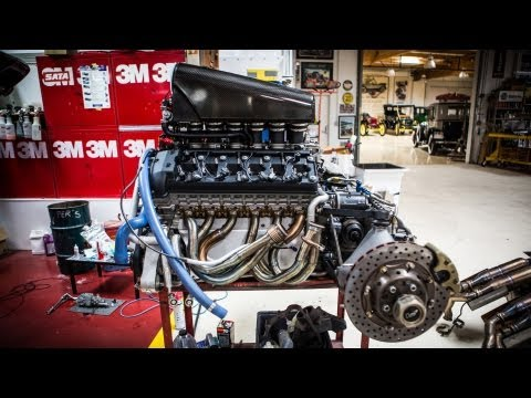 Engine Extraction: McLaren F1 - Jay Leno