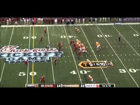 Tyler Bray vs. NC State (8-31-12)
