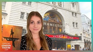 Hamilton's Opening Night in the West End after 18 months   Vlog