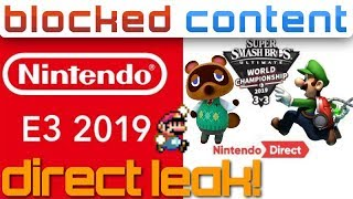 Entire E3 Nintendo Direct LEAKED?! - We Analyze EVERY GAME! - Leak Speak