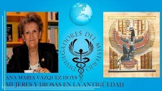 MUJERES Y DIOSAS EN LA ANTIGÜEDAD por ANA MARIA VAZQUEZ HOYS - VIDEOCONFERENCIA