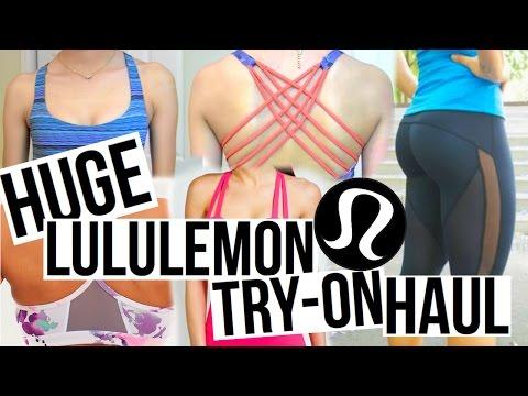 HUGE Lululemon Outlet Try-On Haul