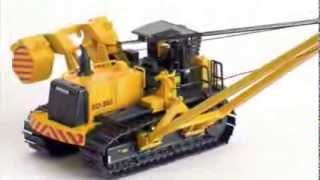 ROS Diecast Construction and Farm Equipment Models