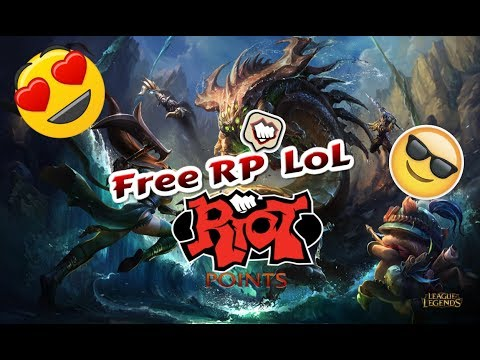 LOL || How to get free RP || [LEGIT]