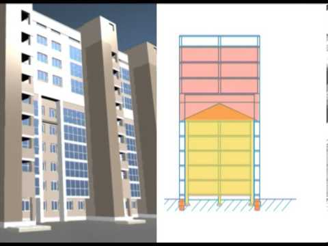 Видеофильм Реконструкция пятиэтажек 2008г.
