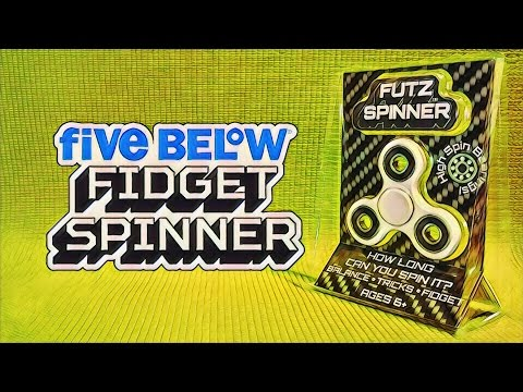 Fidget Spinner from Five Below - $5 Futz Spinner Unboxing & Review - Budget Buys Ep. 2