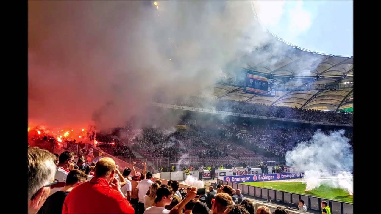 VfB Stuttgart - Karlsruher SC 2:0 - [Baden-Württemberg-Derby]