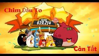 Game Vui Vượt Ải Angry Birds 2 Với Chim Đầu To
