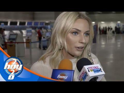 Irina Baeva le responde a Laura Bozzo tras las críticas que hizo en su contra | Hoy