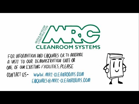 MRC Systems presents: The Most Advanced GRP Cleanroom Panels