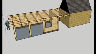 Ik bouw mijn tuinhuis zelf - DIY garden house - Gartenhaus selber bauen - Overkapping bouwen